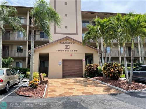 Photo of 12550 SW 15th St #102E, Pembroke Pines, FL 33027 (MLS # F10284858)