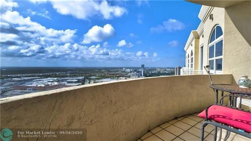 Photo of 19501 W Country Club Dr #TS07, Aventura, FL 33180 (MLS # F10244861)