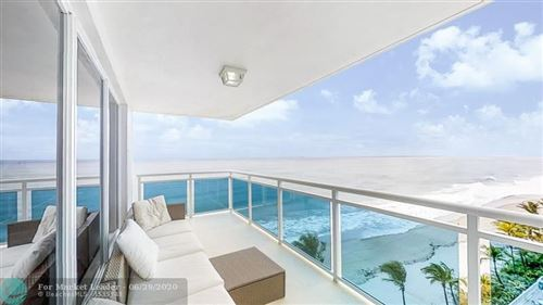 Photo of 3430 Galt Ocean Dr #907, Fort Lauderdale, FL 33308 (MLS # F10235871)