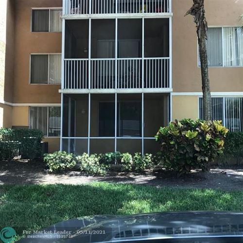 Photo of 4015 W Mcnab Rd #109D, Pompano Beach, FL 33069 (MLS # F10283871)
