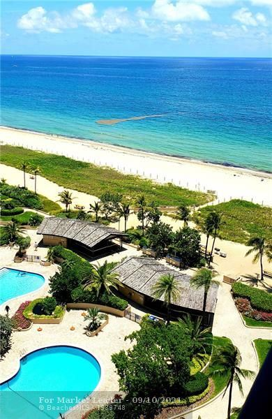 Photo of 4900 N Ocean Blvd #1604, Lauderdale By The Sea, FL 33308 (MLS # F10298871)
