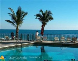 Photo of 3800 Galt Ocean Dr #609, Fort Lauderdale, FL 33308 (MLS # F10147873)