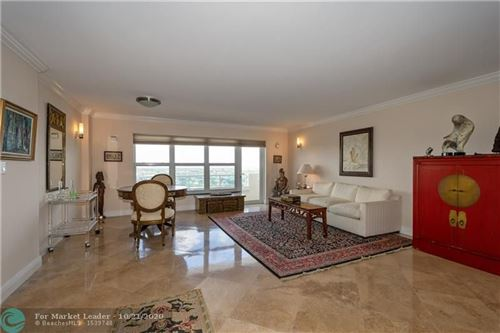 Photo of 3900 Galt Ocean Dr #1609, Fort Lauderdale, FL 33308 (MLS # F10254874)