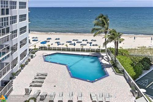 Photo of 3700 Galt Ocean Dr #1509, Fort Lauderdale, FL 33308 (MLS # F10208876)