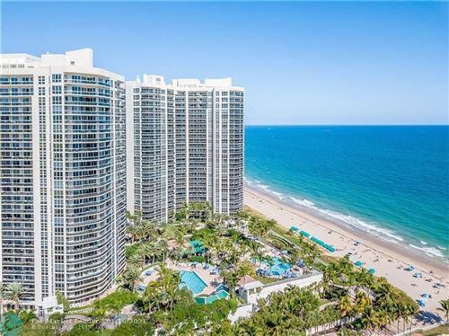 Photo of 3200 N Ocean Blvd #703, Fort Lauderdale, FL 33308 (MLS # F10266878)