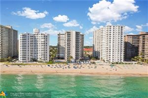Photo of 3700 Galt Ocean Dr #1001, Fort Lauderdale, FL 33308 (MLS # F10156881)