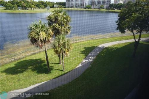 Photo of 2801 N Palm Aire Dr #405, Pompano Beach, FL 33069 (MLS # F10241882)