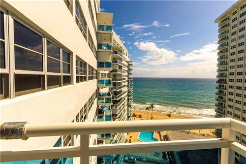 Photo for 3430 Galt Ocean #1411, Fort Lauderdale, FL 33308 (MLS # F10271884)