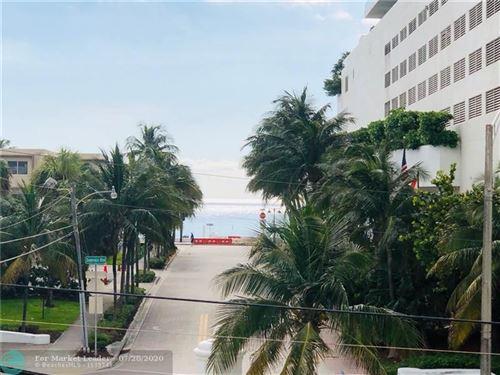 Photo of Listing MLS f10240887 in 95 N Birch Rd #306 Fort Lauderdale FL 33304