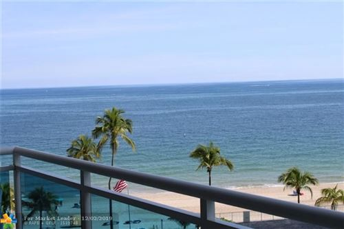 Photo of 3430 Galt Ocean Dr #710, Fort Lauderdale, FL 33308 (MLS # F10204890)