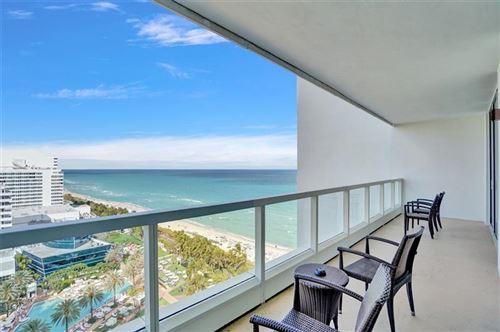 Photo of 4391 Collins Ave #1706/1707, Miami Beach, FL 33140 (MLS # F10279891)