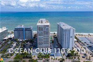 Photo of 4020 GALT OCEAN DR #110, Fort Lauderdale, FL 33308 (MLS # F10168893)