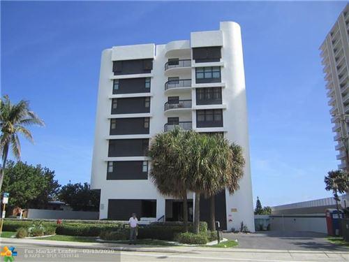Foto de inmueble con direccion 812 N Ocean Blvd #202 Pompano Beach FL 33062 con MLS F10216895