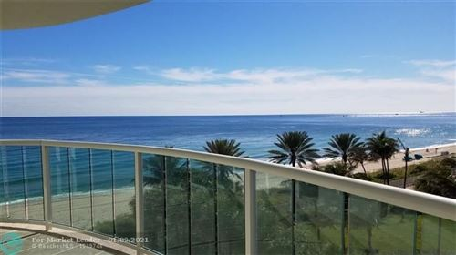 Photo of 3400 Galt Ocean Dr #404S, Fort Lauderdale, FL 33308 (MLS # F10214897)