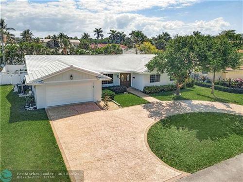 Photo of 4430 NE 30th Terrace, Lighthouse Point, FL 33064 (MLS # F10275899)