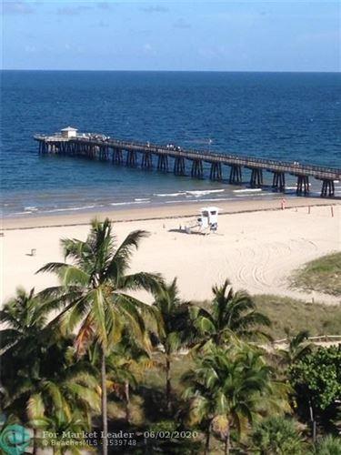 Photo of 305 N Pompano Beach Blvd #907, Pompano Beach, FL 33062 (MLS # F10231900)