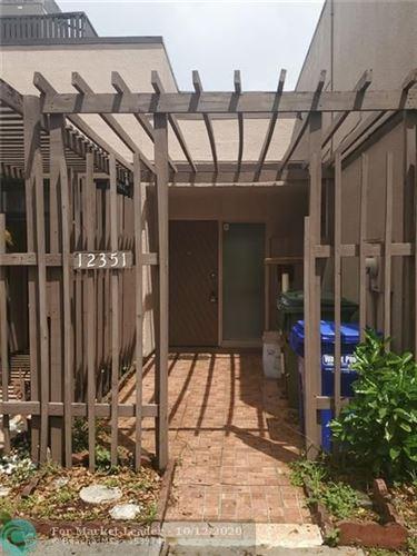 Photo of 12351 NW 11th St #12351, Pembroke Pines, FL 33026 (MLS # F10248903)
