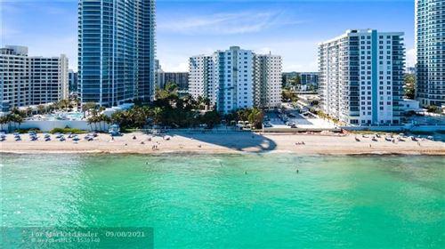Photo of 3001 S Ocean Dr #443, Hollywood, FL 33019 (MLS # F10299903)