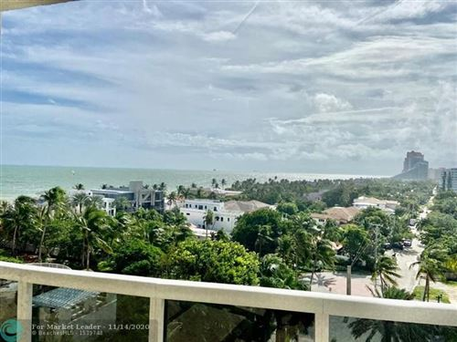 Photo of 3100 N Ocean Blvd #804, Fort Lauderdale, FL 33308 (MLS # F10236906)