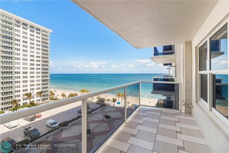 Photo of 3500 Galt Ocean Dr #714, Fort Lauderdale, FL 33308 (MLS # F10221906)