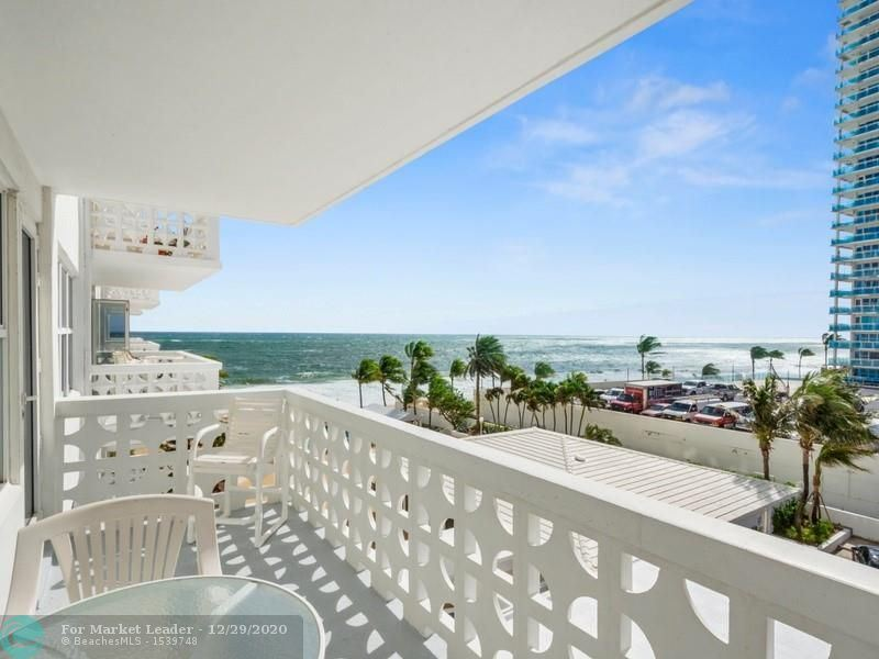 Photo of 4010 Galt Ocean Dr #408, Fort Lauderdale, FL 33308 (MLS # F10258906)