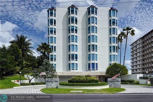 Photo of 1073 Hillsboro Mile #3S, Hillsboro Beach, FL 33062 (MLS # F10223910)