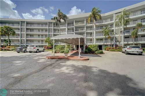 Photo of 4020 W Palm Aire Dr #101, Pompano Beach, FL 33069 (MLS # F10293915)