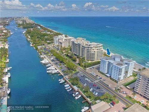Foto de inmueble con direccion 1057 Hillsboro Mile #514 Hillsboro Beach FL 33062 con MLS F10230923