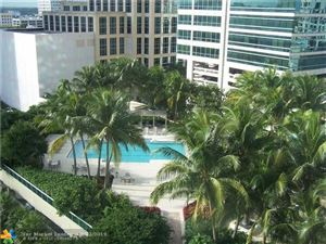 Tiny photo for 347 N New River Dr E #1407, Fort Lauderdale, FL 33301 (MLS # F10170926)