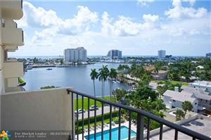 Photo of 2500 E Las Olas Blvd #907, Fort Lauderdale, FL 33301 (MLS # F10182930)