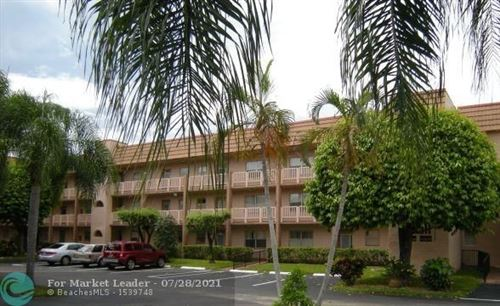 Photo of 9661 Sunrise Lakes Blvd #104, Sunrise, FL 33322 (MLS # F10283931)