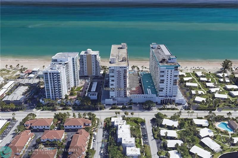 Photo of 1000 S Ocean Blvd #14F, Pompano Beach, FL 33062 (MLS # F10304931)