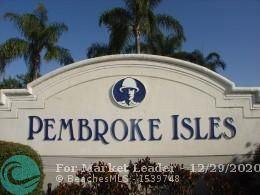 Photo of 713 NW 170th Ter #713, Pembroke Pines, FL 33028 (MLS # F10258935)