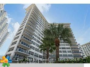 Photo of 3700 Galt Ocean Dr #315, Fort Lauderdale, FL 33308 (MLS # F10144936)