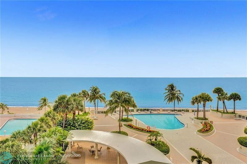 Photo of 4240 Galt Ocean Dr #602, Fort Lauderdale, FL 33308 (MLS # F10244936)