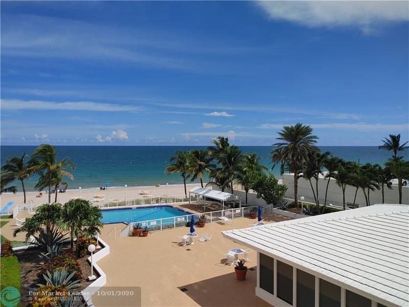 Photo of 4010 Galt Ocean Dr #307, Fort Lauderdale, FL 33308 (MLS # F10250936)