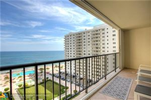Photo of 4280 Galt Ocean Dr #9C, Fort Lauderdale, FL 33308 (MLS # F10187940)