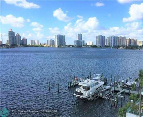 Photo of 17900 N Bay Rd #608, Sunny Isles Beach, FL 33160 (MLS # F10262940)
