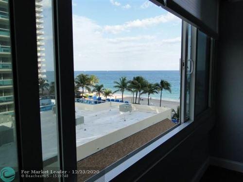 Photo of 4040 Galt Ocean Dr #431, Fort Lauderdale, FL 33308 (MLS # F10262942)