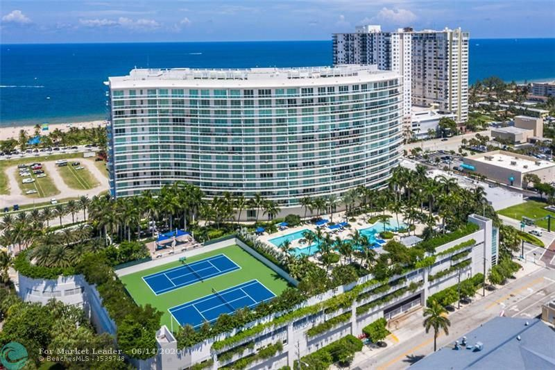 1 N Ocean Blvd #1711, Pompano Beach, FL 33062 - MLS#: F10232944