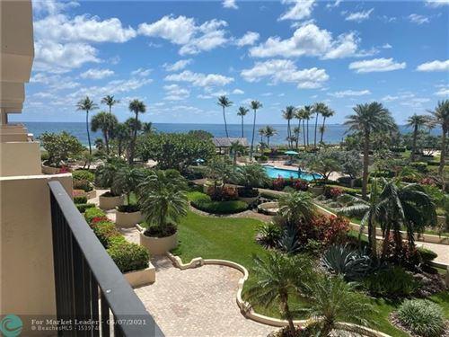 Photo of 5100 N Ocean Blvd #401, Lauderdale By The Sea, FL 33308 (MLS # F10285946)