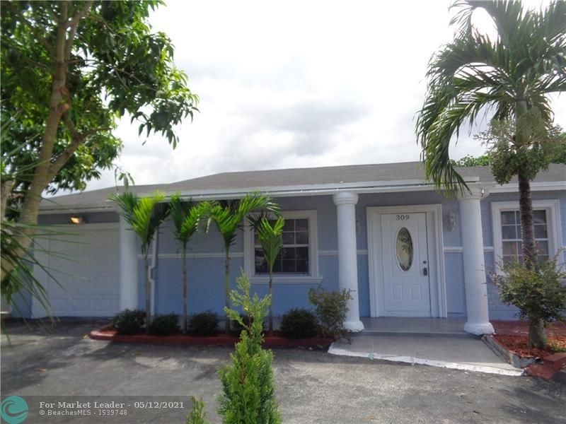 Photo of 309 SW 77th Ave, North Lauderdale, FL 33068 (MLS # F10283946)