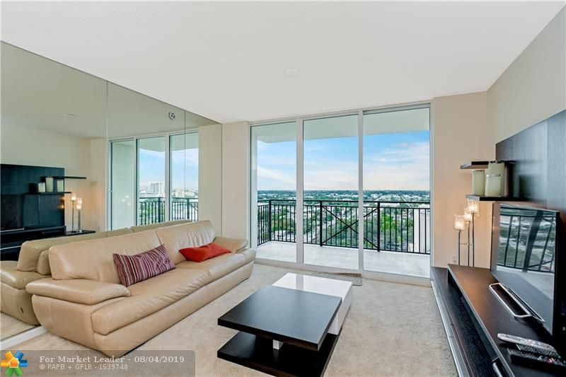 Photo of 610 W LAS OLAS BLVD #1514N, Fort Lauderdale, FL 33312 (MLS # F10187947)