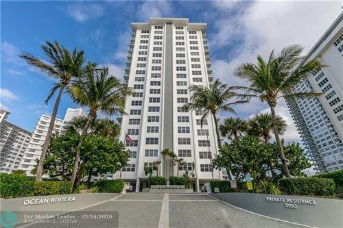 Photo of 3550 NE Galt Ocean Dr #1810, Fort Lauderdale, FL 33308 (MLS # F10216950)
