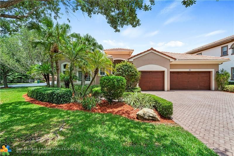 Photo for 865 NW 124th Ave, Coral Springs, FL 33071 (MLS # F10179953)