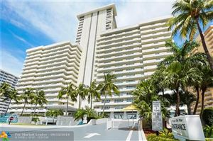Photo of 3900 Galt Ocean Dr #909, Fort Lauderdale, FL 33308 (MLS # F10192954)