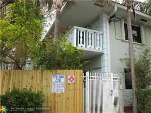 Photo of 1423 Holly Heights Dr #5, Fort Lauderdale, FL 33304 (MLS # F10196954)