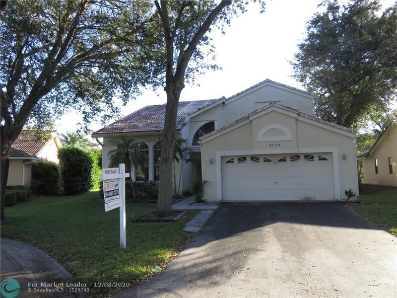 2353 NW 96th Way, Coral Springs, FL 33065 - #: F10260954