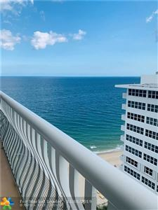 Photo of 4020 Galt Ocean Dr #1810, Fort Lauderdale, FL 33308 (MLS # F10200957)