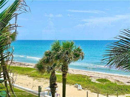 Photo of 1043 Hillsboro Mile #3D, Hillsboro Beach, FL 33062 (MLS # F10293958)